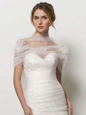 I Love This Sheer Swath Of Tulle For A Bolero