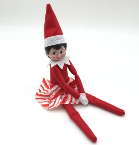 Elf GIRL Christmas Doll Elf