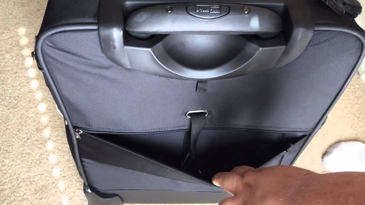 """Genius Pack 22"""" Carry On Bag With Suitor Unboxing 7-29-14"""