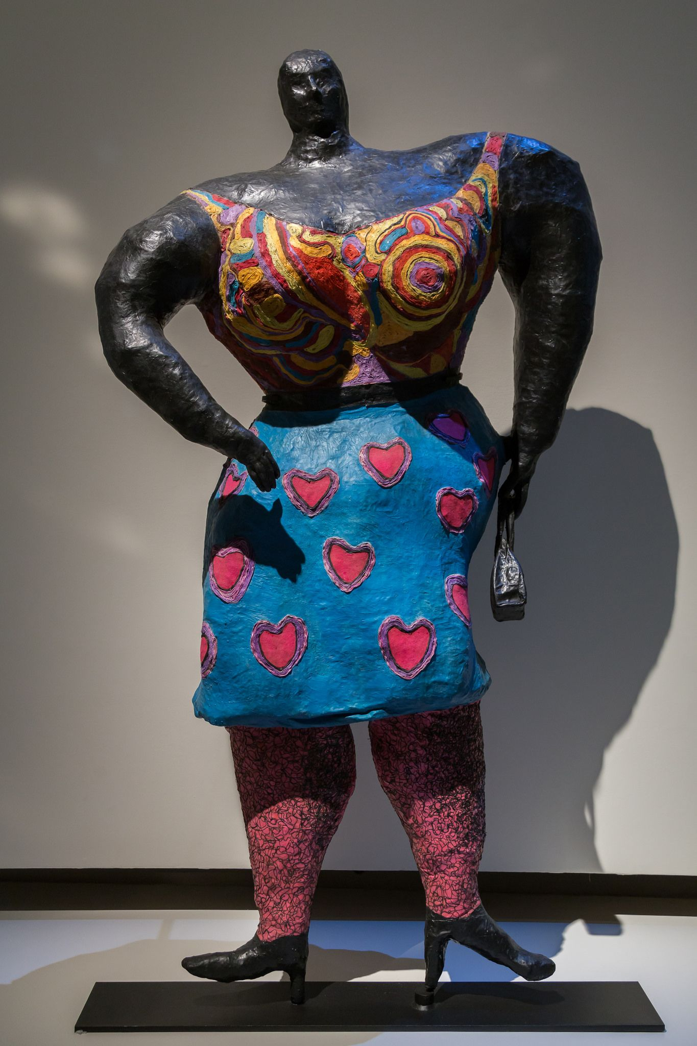 2014/10/10 18h04 Niki de Saint Phalle, «Black Rosy ou My Heart Belongs To Rosy» (1965) | Exposition Niki de Saint Phalle, Grand Palais (Paris)