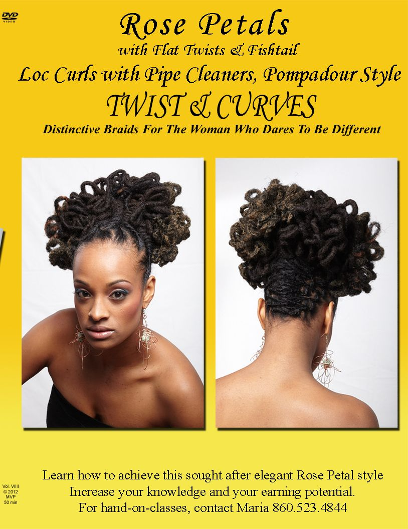 Braids Extension Locs Natural Hair Styles Beauty Salon Curly Twists Styles Maria Thompson Hartford Natural Hair Styles Pompadour Style Natural Hair Tips