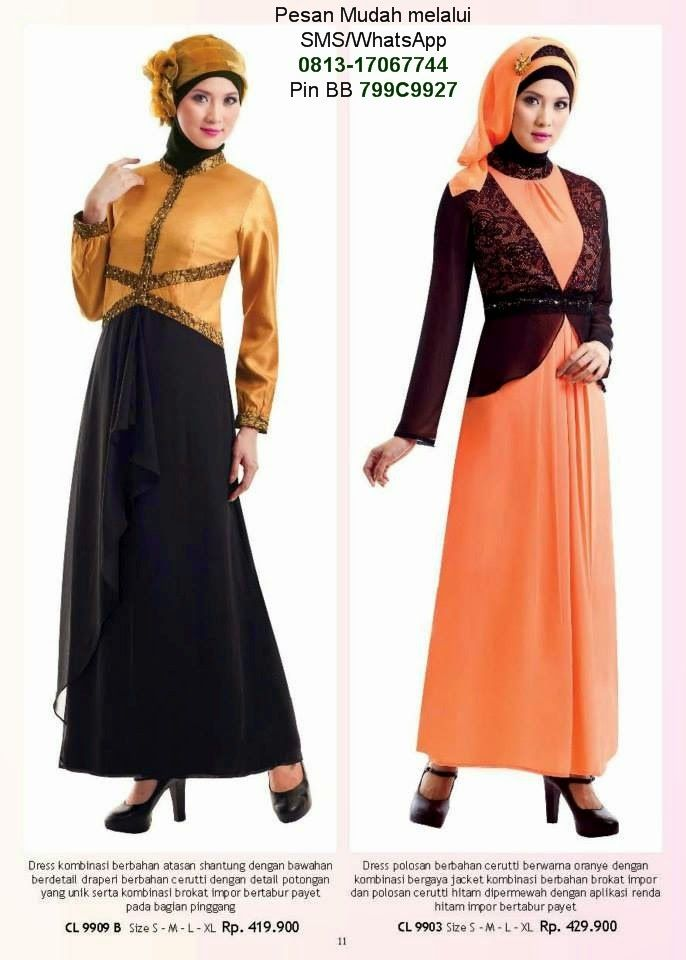 Model Baju Gamis Pesta Biasa Dipakai Untuk Menghadiri Undangan Pesta