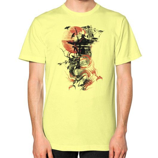 The Lost Temple Unisex T-Shirt (on man)