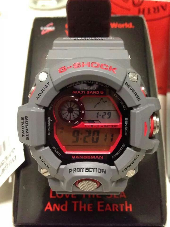 huge discount 69abe 253a2 G-shock rangeman limited | G SHOCK RANGEMAN in 2019 | G ...