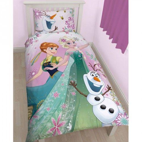 parure de lit reine des neiges frozen parures de lit parure de lit lit et parure. Black Bedroom Furniture Sets. Home Design Ideas