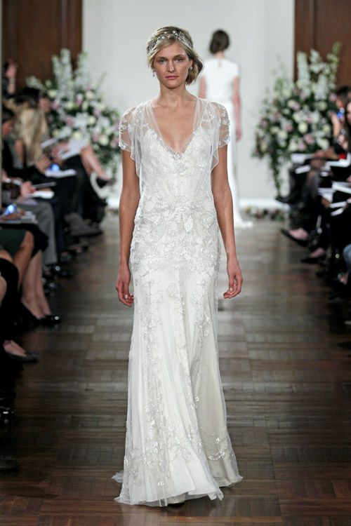 Jenny Packham 2013 Wedding Dresses Junebug Weddings 1920s Style Wedding Dresses Wedding Dresses Lace Wedding Dresses
