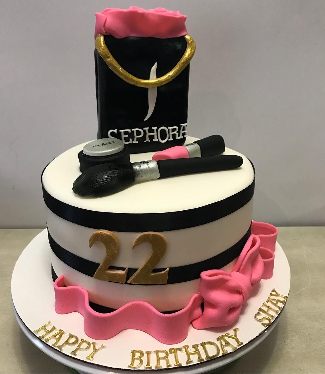 Sephora Makeup Cake...sephora...makeup...mac...beauty