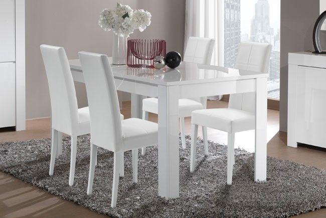 Tavolo rettangolare laccato bianco, come foto cm 160 x 90 | Idee per ...