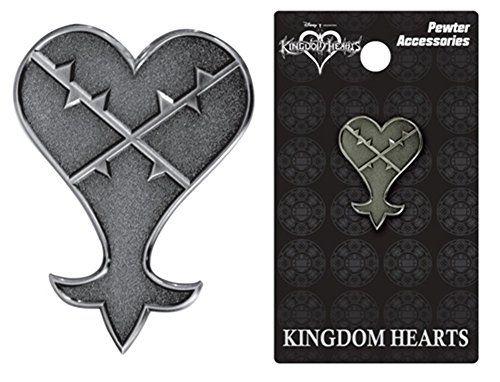 Disney Kingdom Hearts Pewter Lapel Pin Heartless