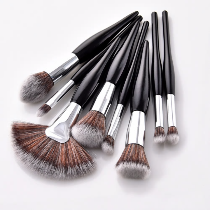 Luxe Makeup Brush Set Black makeup brush set, Makeup