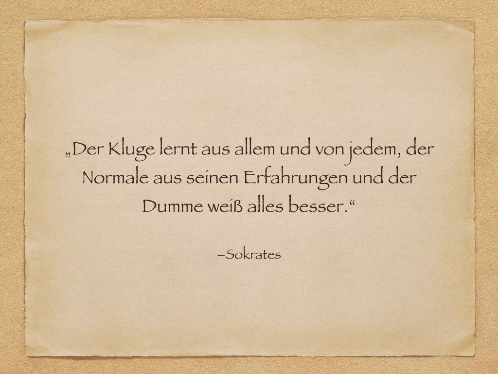 Zitate Sokrates