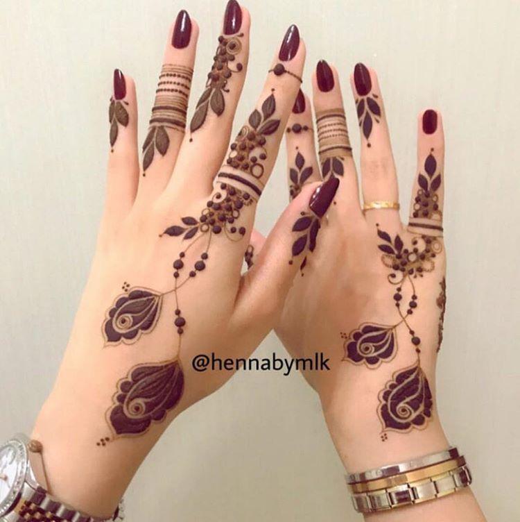 سيدات الامارات Uaewomen2020 Instagram Photos And Videos Finger Henna Designs Henna Tattoo Hand Henna Designs