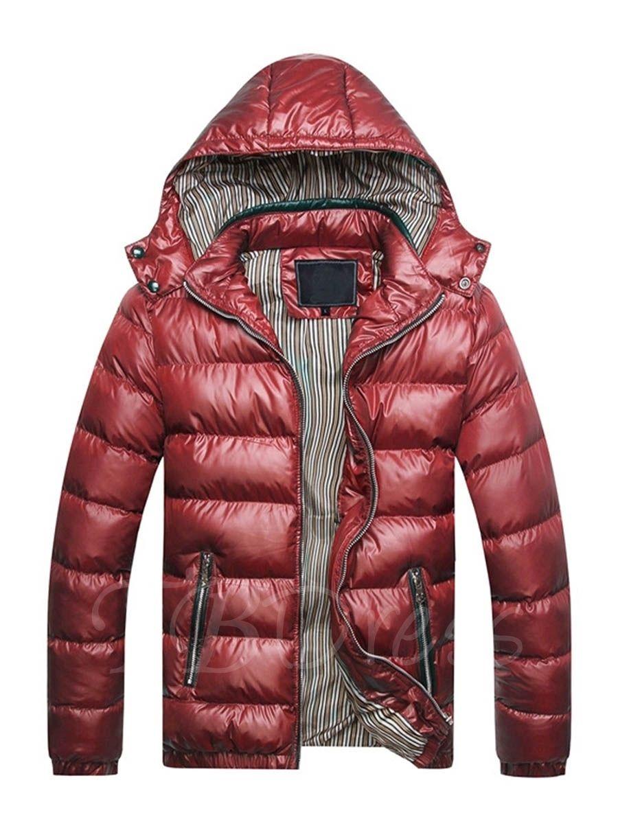 Detachable Hooded Plain Slim Men S Winter Jacket Mens Jackets Casual Winter Jacket Men Mens Outfits [ 1200 x 900 Pixel ]