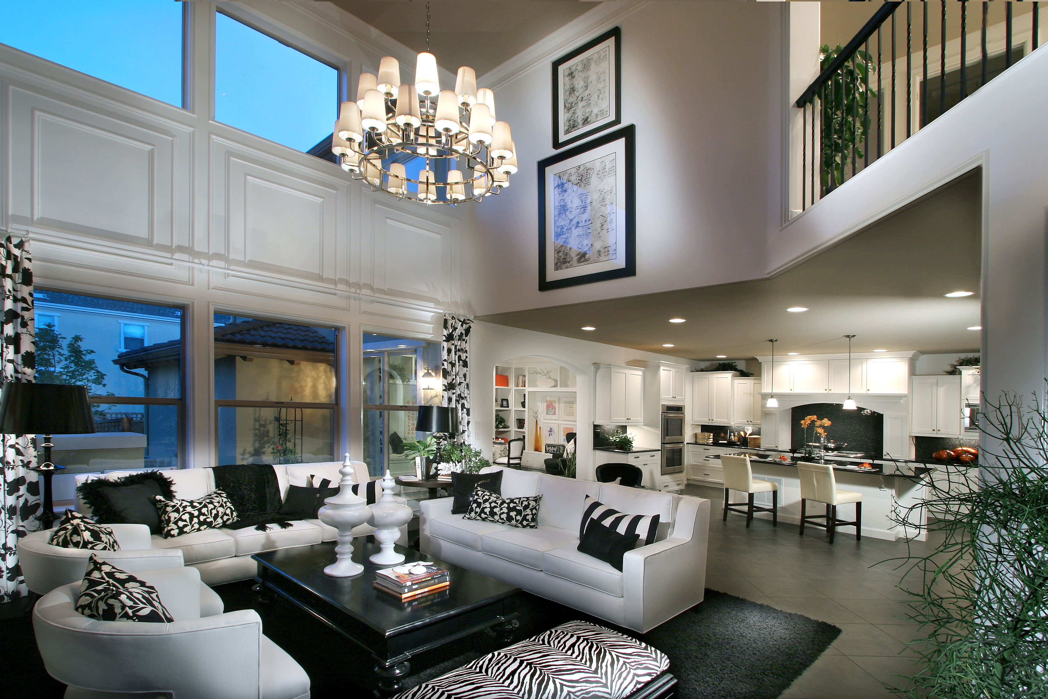 Best The Black And White Theme Looks Great In The Open Space Luxury House Interior Design Home 400 x 300
