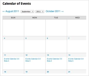 The Events Calendar Free And Open Source Worthy All On Its Own