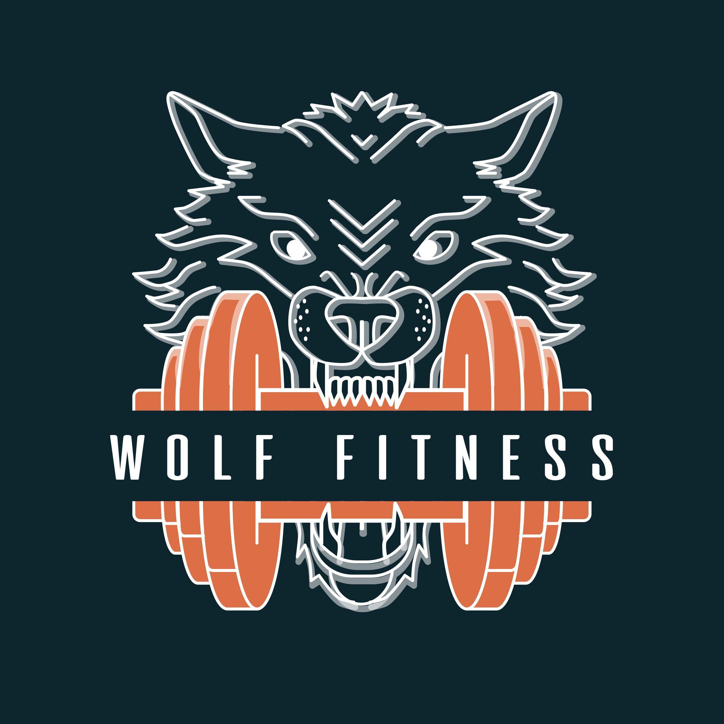 Gym Motivation Logo Gym Motivation Wolf Poster