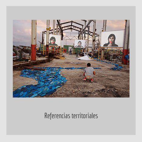 REFERENCIAS TERRITORIALES. YENY CASANUEVA Y ALEJANDRO GONZÁLEZ. PROYECTO PROCESUAL ART