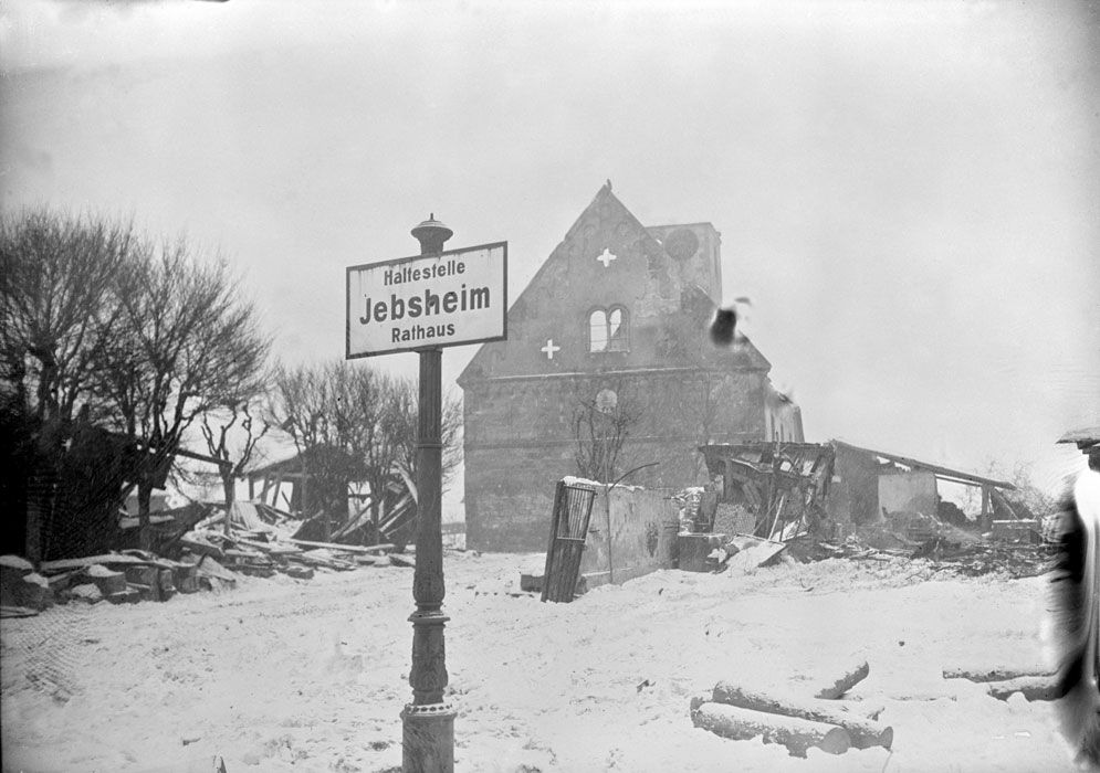 L'offensive sur Colmar : combats du CC 6 de la 5e DB dans le secteur de Jebsheim.