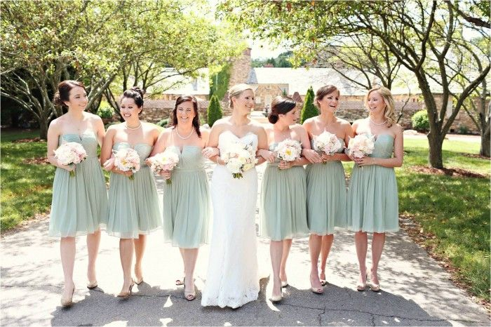 mint bridesmaid dress classic wedding whitebox photography