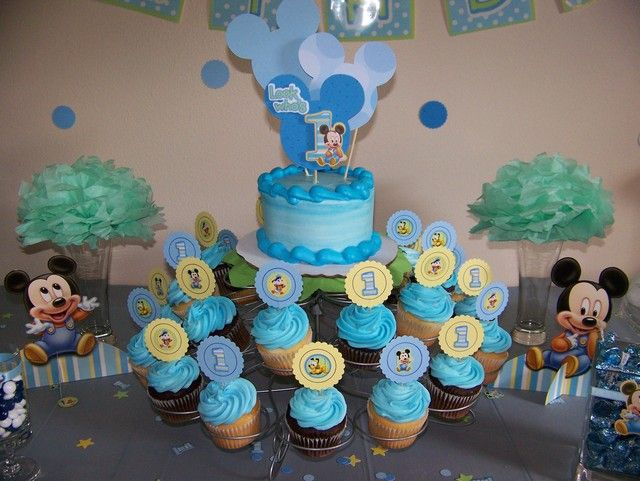 Baby Mickey Mouse Birthday Party Ideas | Photo 3 of 39