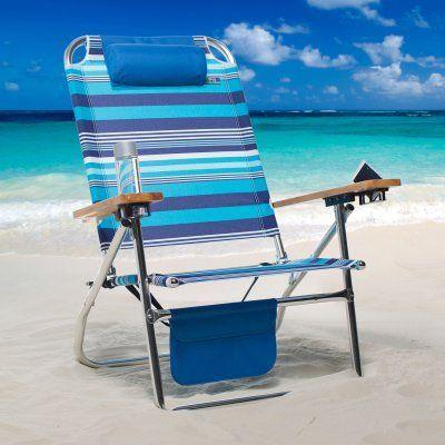 Hi Boy Beach Chair Best Company Swivel Rocker Outdoor Copa 3 Position Deluxe Big Fish 59188 S16a