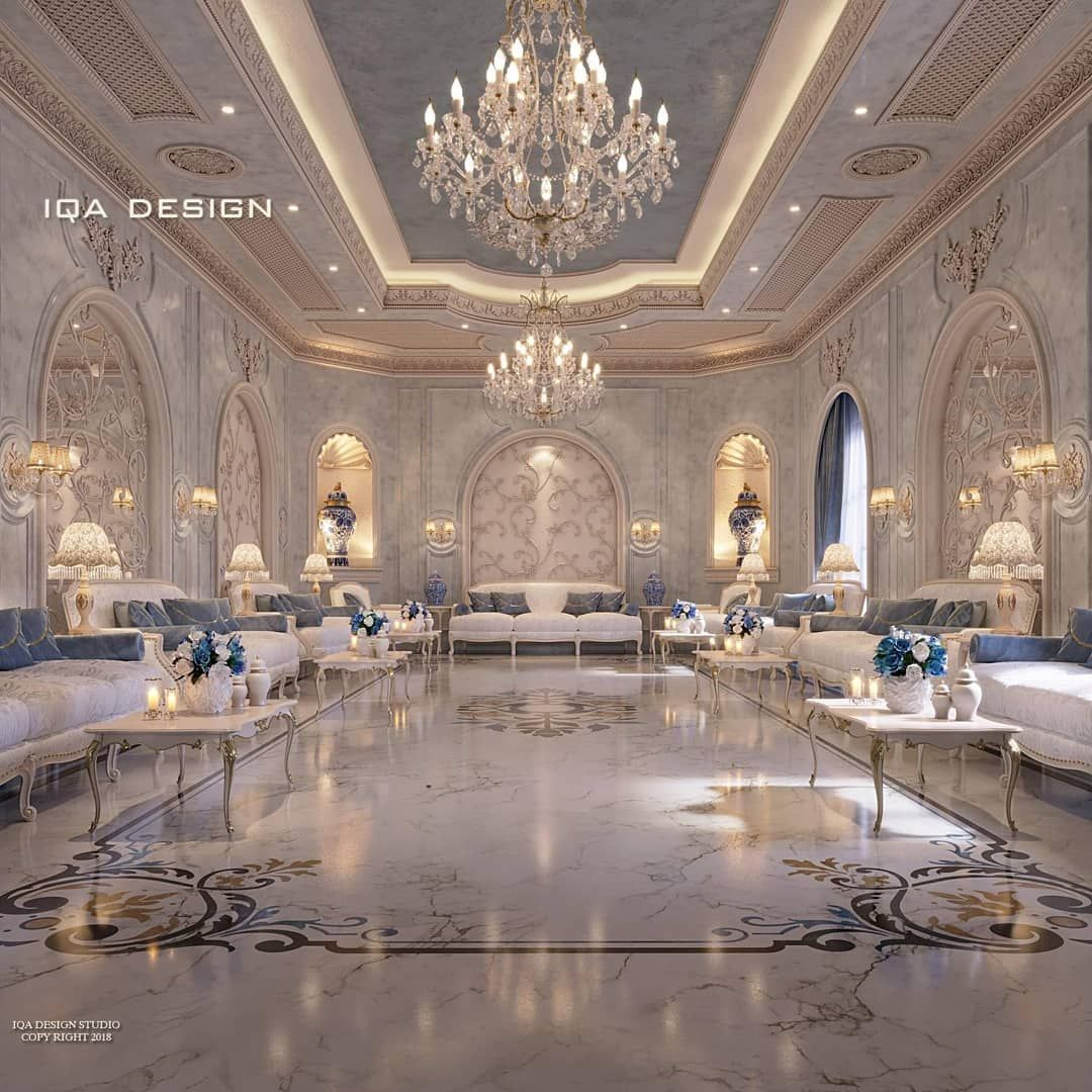 I Q A D E S I G N S On Instagram Men Majlis من أعمالنا بالتصميم الداخلي مجلس رج Luxury House Interior Design Luxury Living Room Design Luxury Ceiling Design