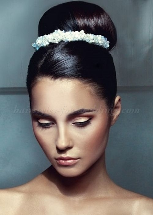 Pleasant 1000 Images About Wedding Bridal Hairstyle Ideas On Pinterest Hairstyle Inspiration Daily Dogsangcom