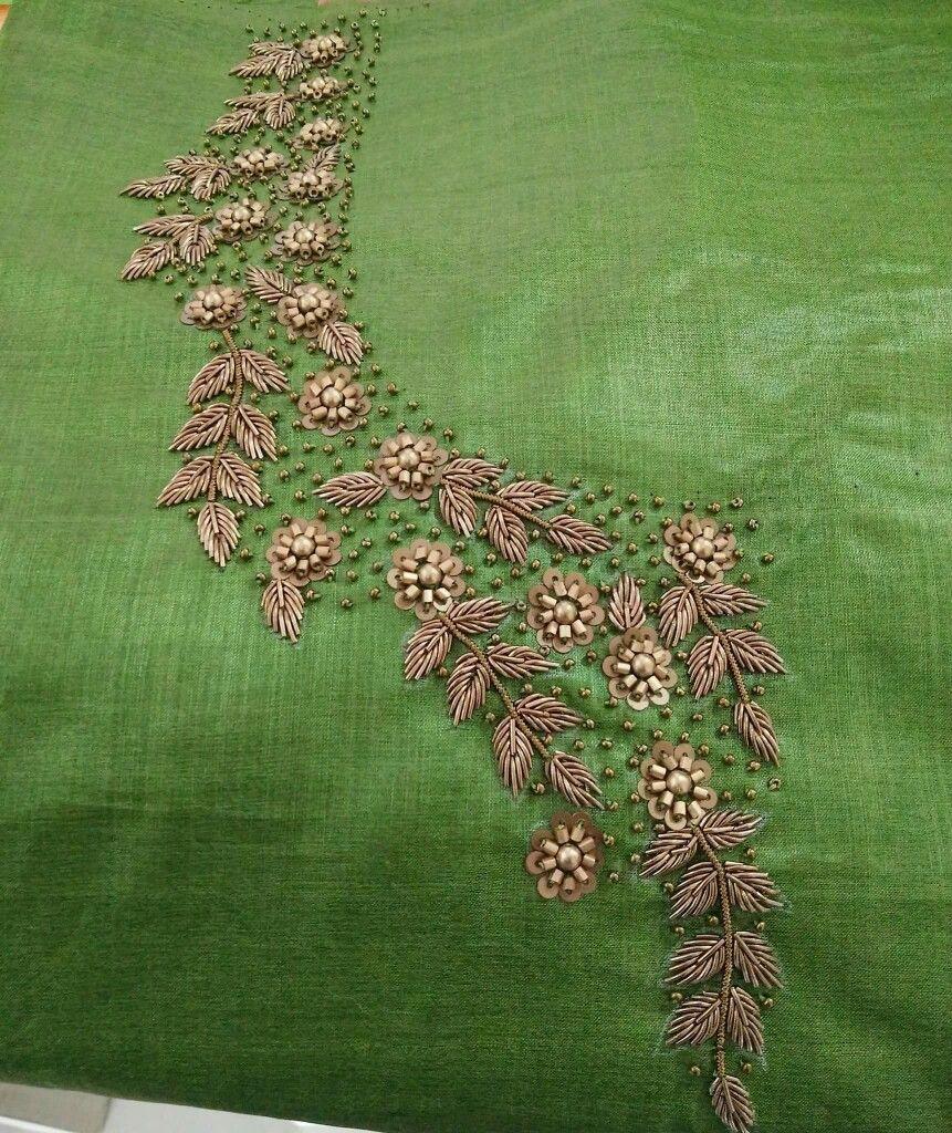 Pin by gayatri palleti on work pinterest embroidery blouse