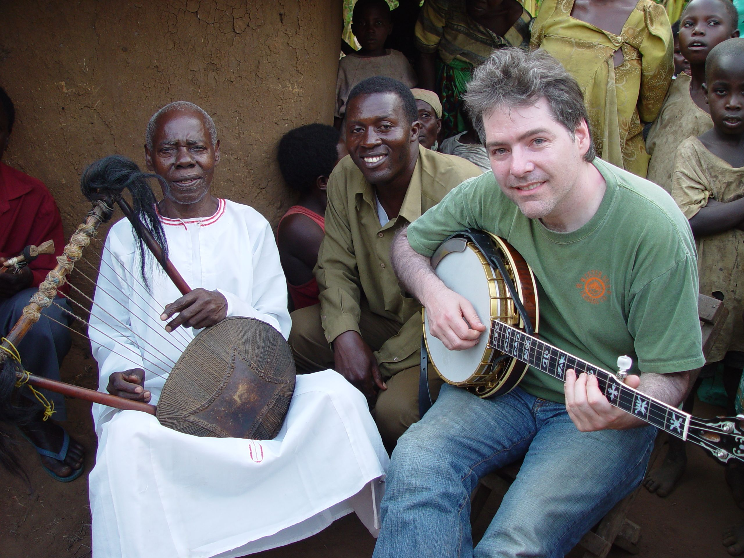 Bela Fleck in Mali tracing the banjo's origins and jamming with the locals.