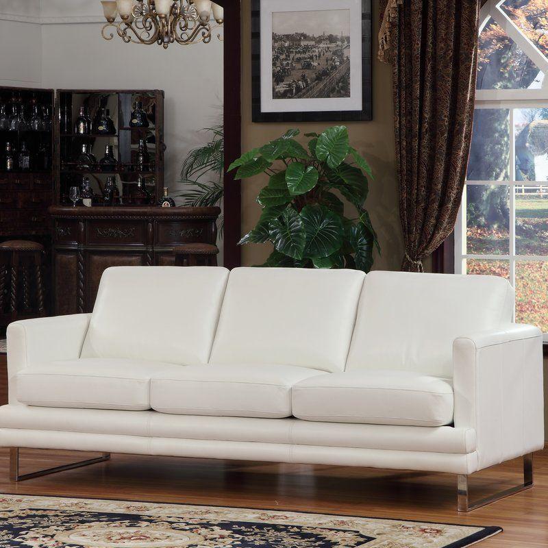 Lazzaro Leather Leather Sofa U0026 Reviews | Wayfair