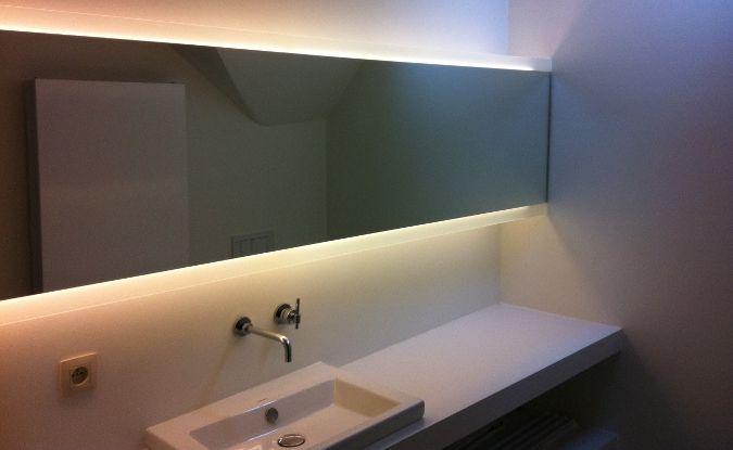 verlichting spiegelkast | Badkamer | Pinterest | Showroom