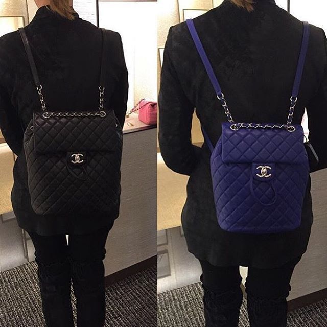 7c13dd06cab7 Image result for celebrity backpack 2016 | Bags | Chanel backpack ...