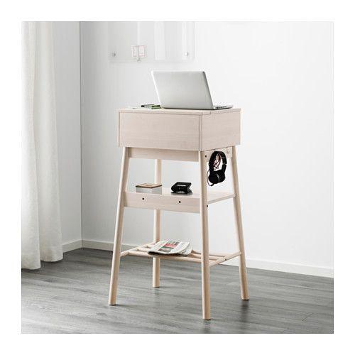 Standing Office Desk Ikea KNOTTEN Standing Desk White Birch Office Ikea F