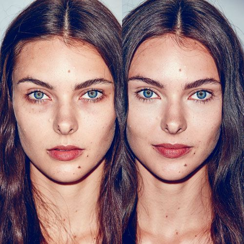 How To Cover Dark Circles!   Make it Up.. as I go along ...