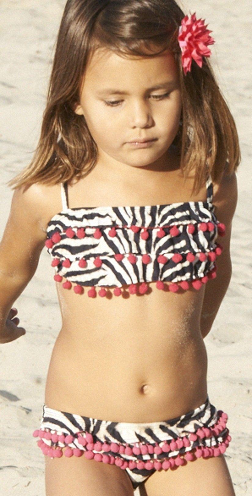 Pilyq 2013 Kids Simba Ruffle Bikini Swimsuits Kids