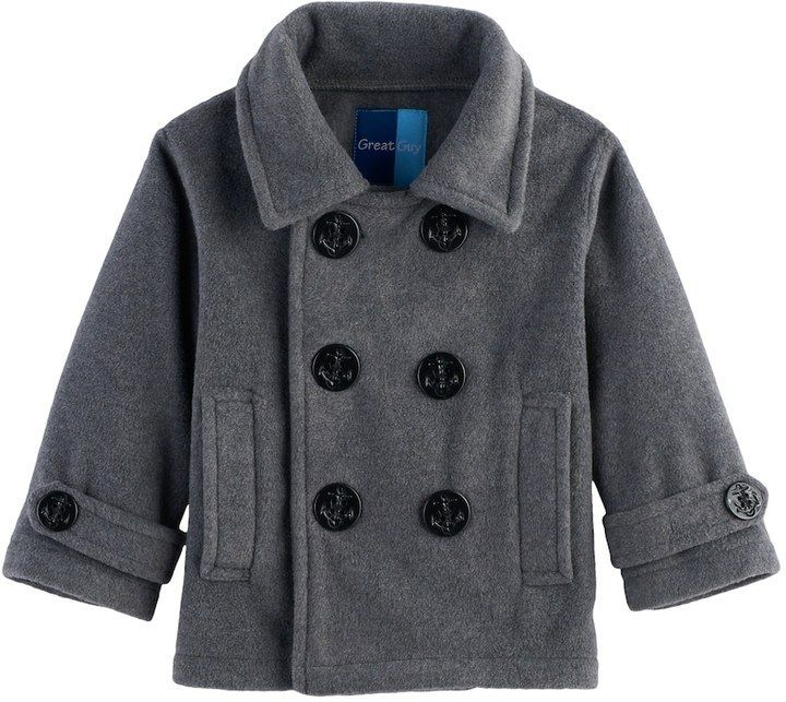Great Guy Baby Boy Great Guy 2-pc. Peacoat Midweight Jacket & Hat Set