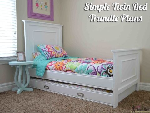 Simple Twin Bed Trundle Twin Trundle Bed Twin Bed Frame Bed