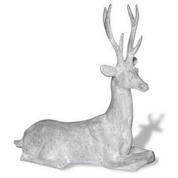 Concrete Deer Lawn Ornament Amedeo