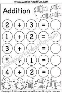 kindergarten addition worksheets beginner addition 3 worksheets math worksheets. Black Bedroom Furniture Sets. Home Design Ideas