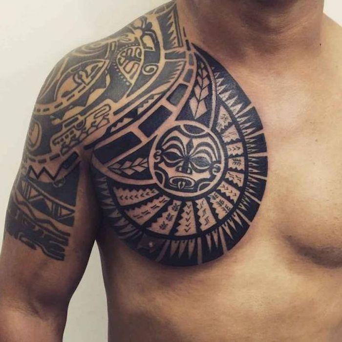 1001 ideen und bilder zum thema maori tattoo und seine bedeutung tattoo bedeutungen maorie. Black Bedroom Furniture Sets. Home Design Ideas