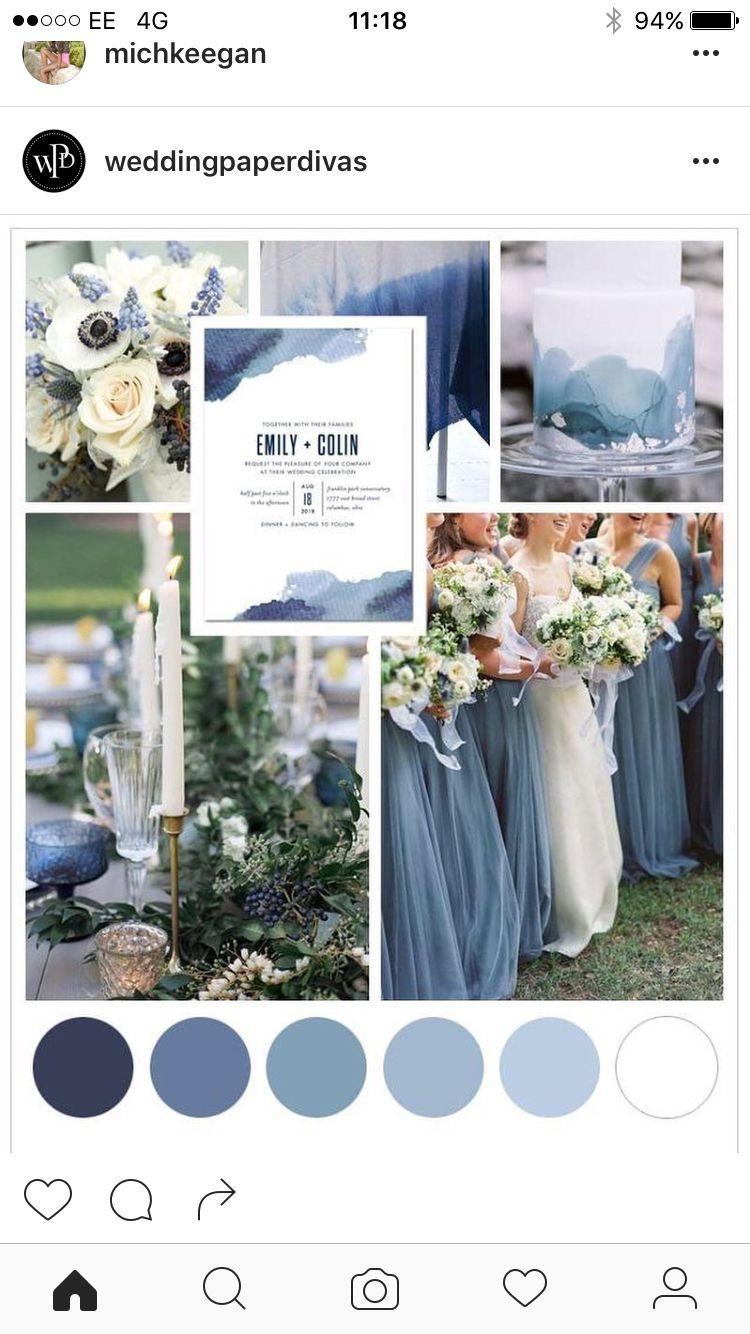 February Wedding Colors 2017