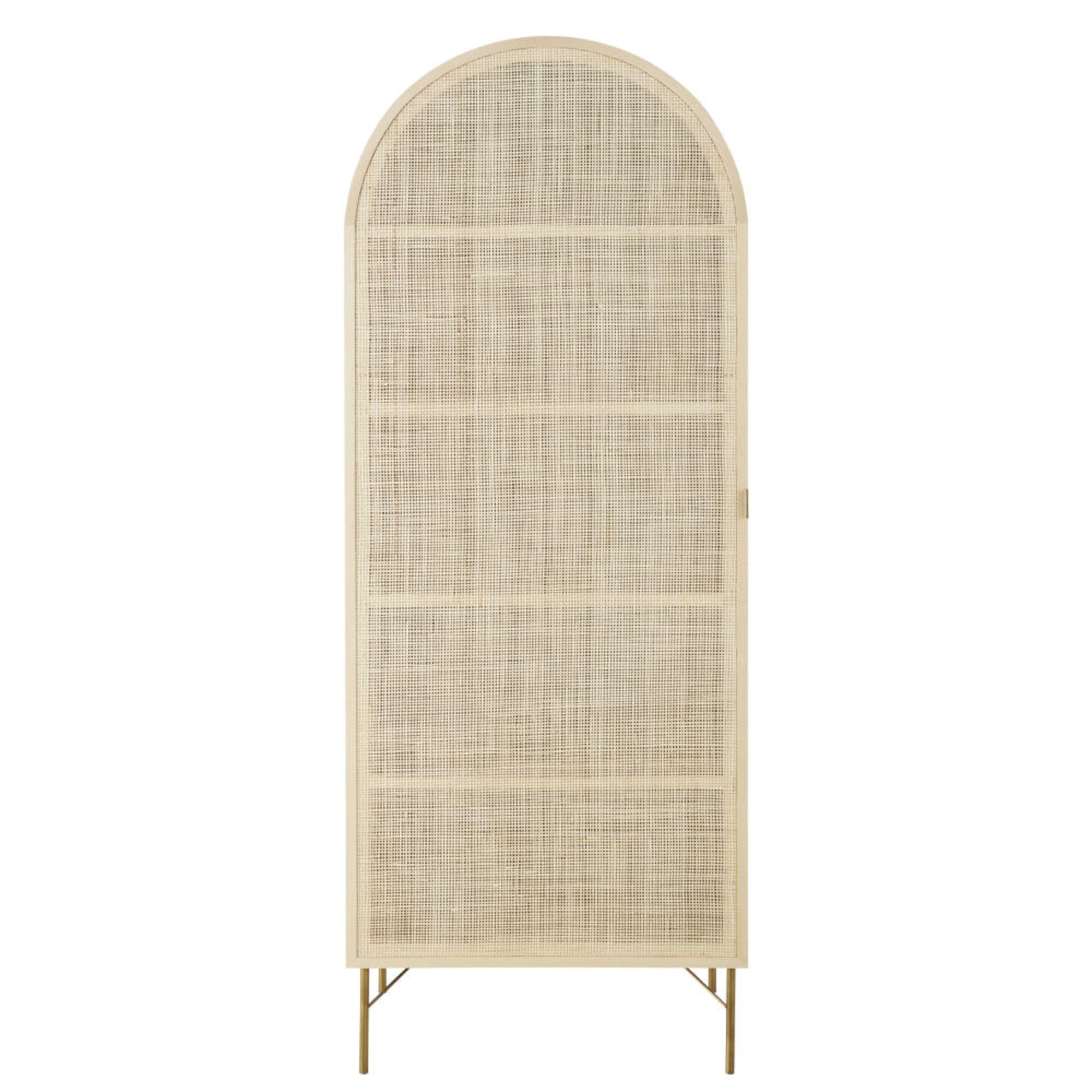 Armoire 1 Porte Cannage En Rotin Solstice Maisons Du Monde Wardrobe Furniture Rattan Maisons Du Monde