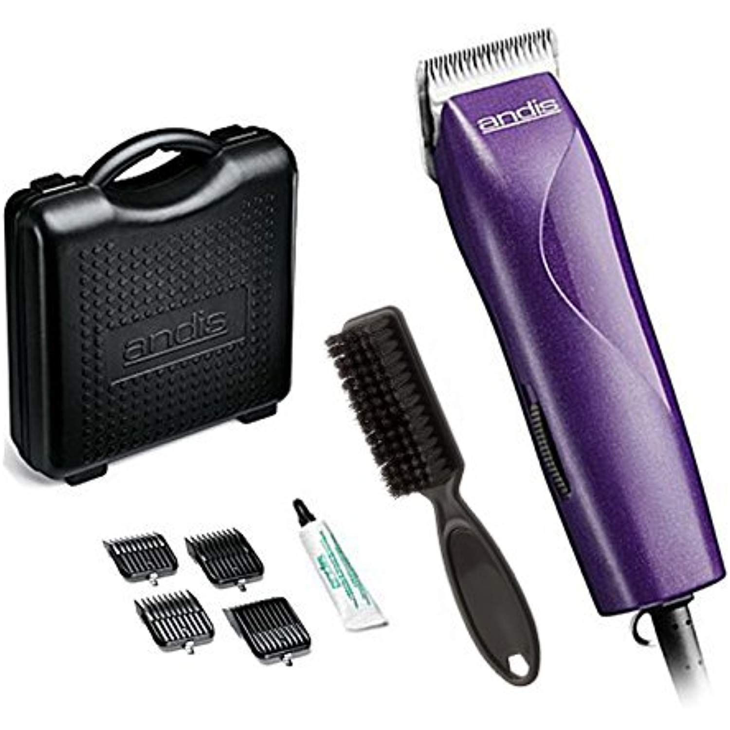 Andis Easyclip 8 Piece Dog Grooming Clipper Kit With Ceramicedge Detachable 10 Blade With 4 Attachment Combs With Images Dog Grooming Clippers Dog Grooming Dog Clippers