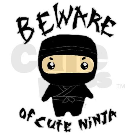 cute ninja note cards (pk of 10) | ninjas and elementary art
