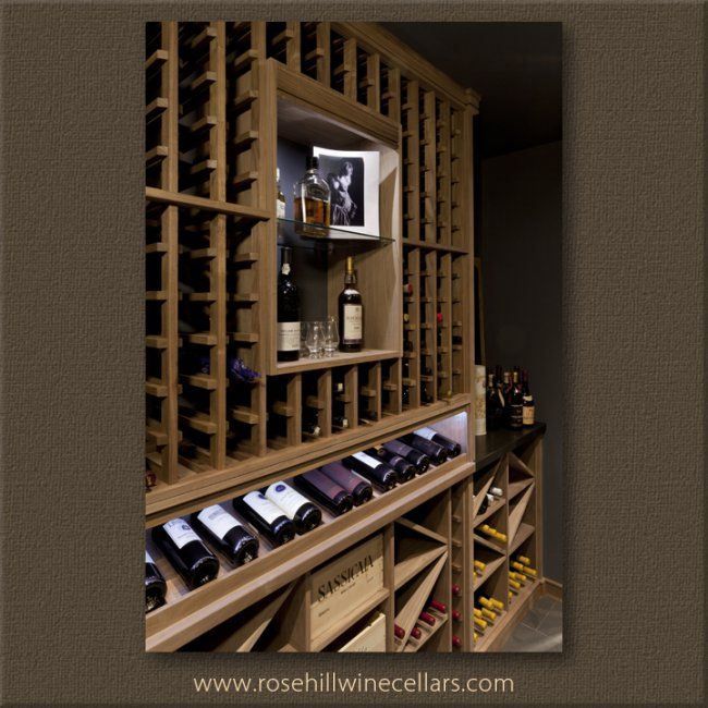 Sapele Wine Cellar more #wine cellars at Rosehill Wine Cellars. Build your very own #wineroom today! #winelover