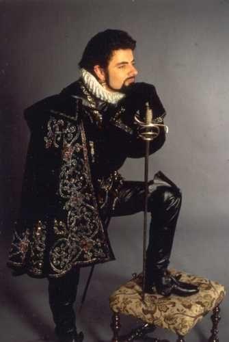 Edmund Blackadder - Rowan Atkinson Photo