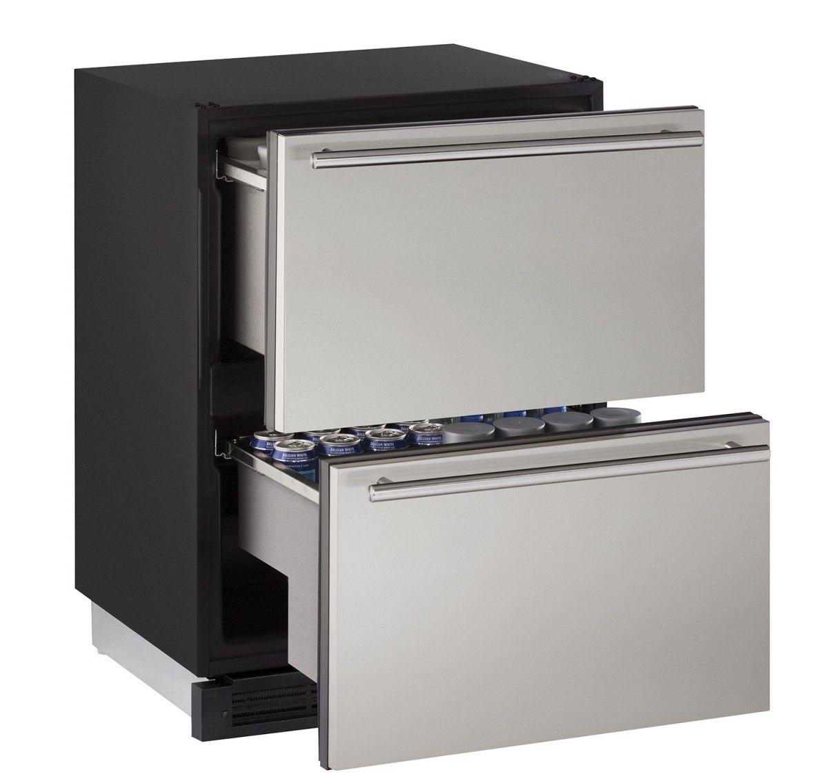 U Line Beverage Fridge 1224dwr 24 Solid Refrigerator