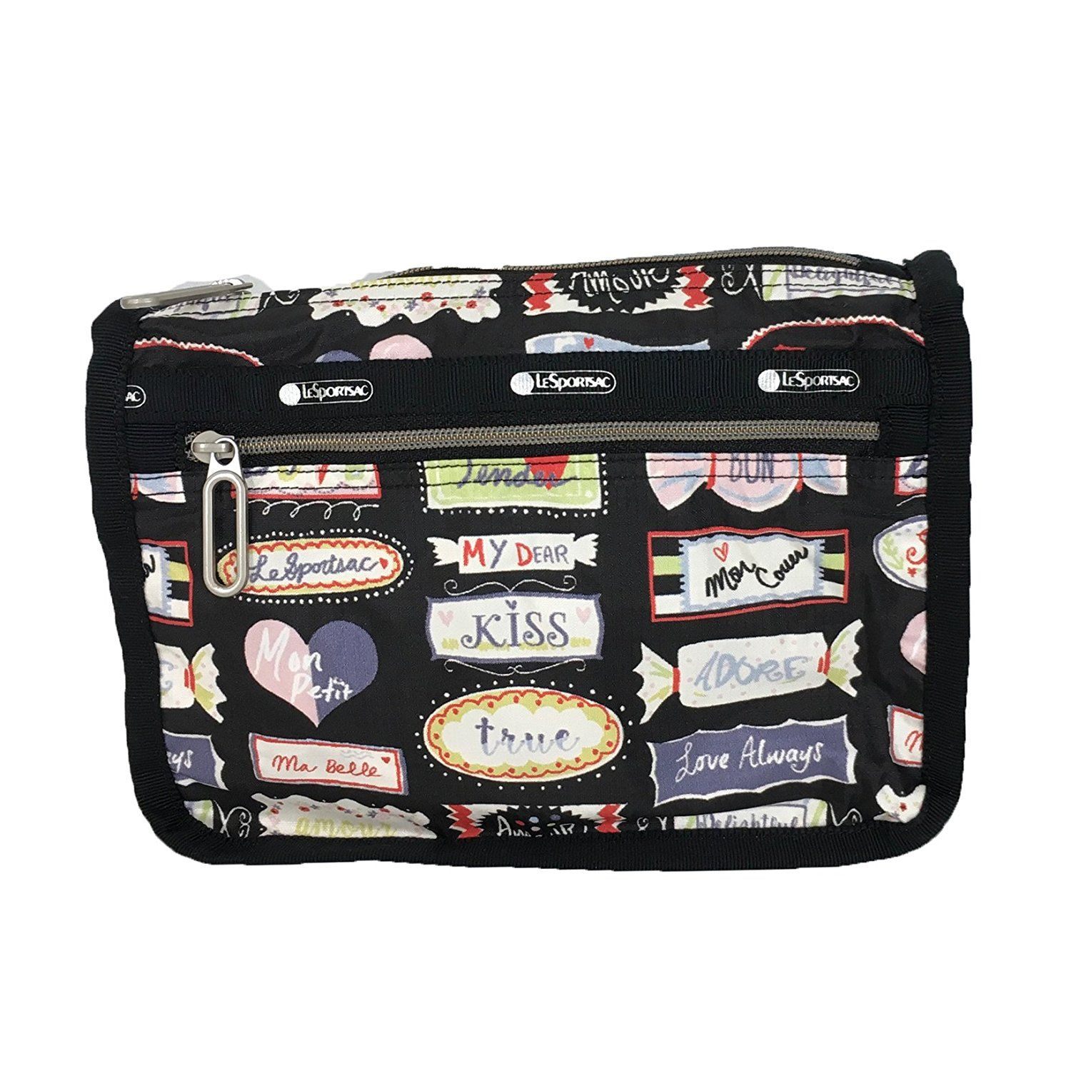 Lesportsac Essential Everyday Cosmetic Case, Sweet Talk *** Want To