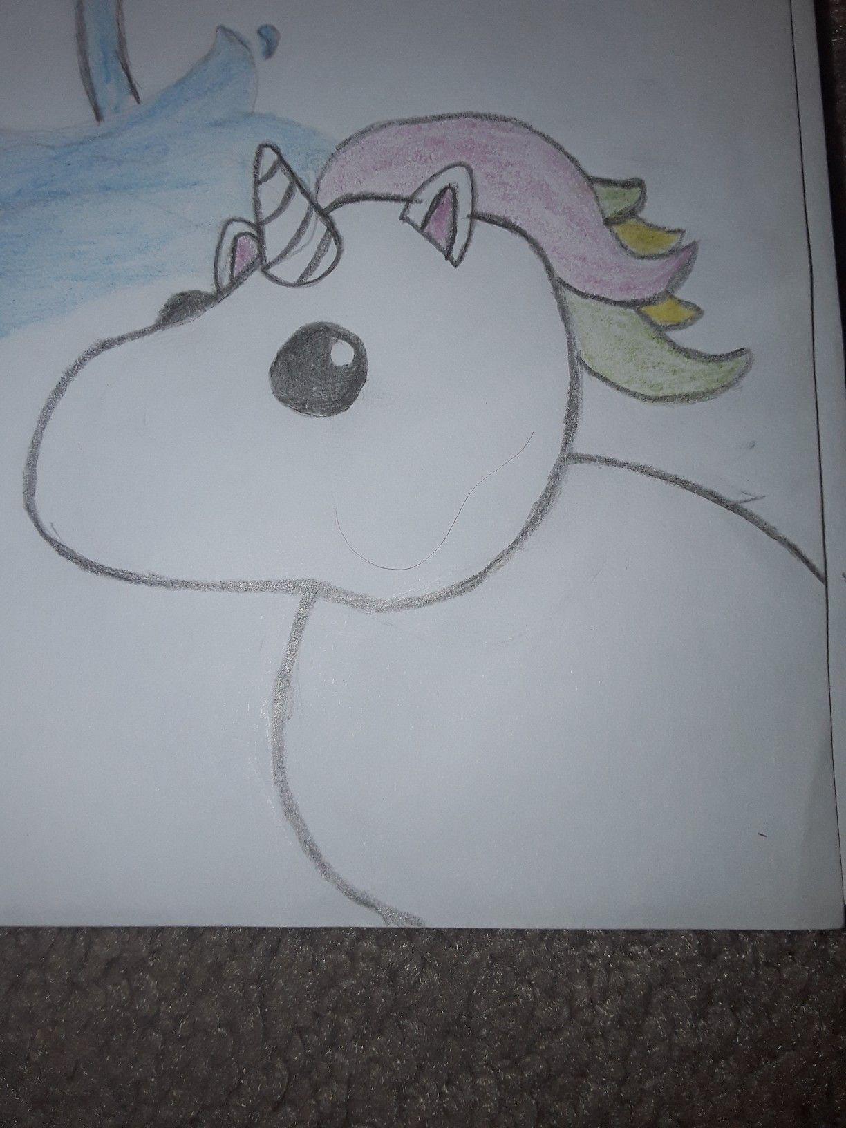 Unicorn In 2020 Roblox Unicorn My Drawings