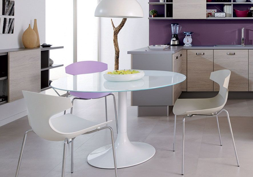 sillas de cocina blancas | Diseños de cocinas | Pinterest | Sillas ...